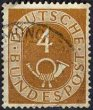 Deutsch Bundepost Posthoorn 4
