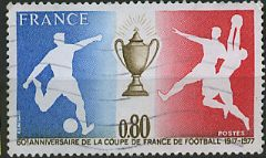 60ème anniversaire de la coupe de France de Football (1917 - 1977)