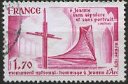 Monument national - hommage à Jeanne d'Arc (1412 - 1431)