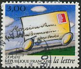 La lettre - transport