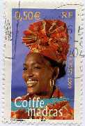 Coiffe Madras, guadeloupe
