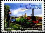 Le train  Buddicom n°33 en haute Normandie